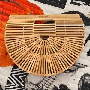 Cult gaia bamboo clutch